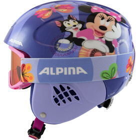 Alpina Carat Set Disney Casque Enfant, Minnie Mouse